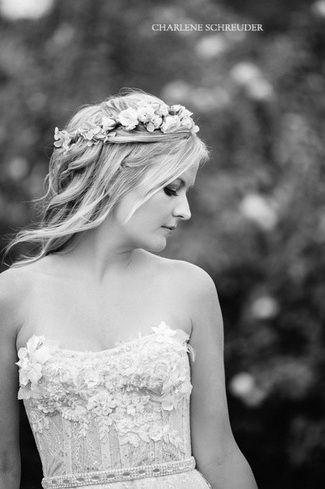 {Wedding Dress Design} Kobus Dippenaar | Confetti Daydreams - Anna Georgina by Kobus Dippenaar wedding gown (Style No. AG-12-001) worn by real bride (Charlene Schreuder Photography) ♥ #Wedding #Dress #Gown ♥  ♥  ♥ LIKE US ON FB: www.facebook.com/confettidaydreams  ♥  ♥  ♥