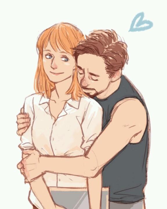 Iron Man (MCU) - Tony Stark x Pepper Potts - Pepperony