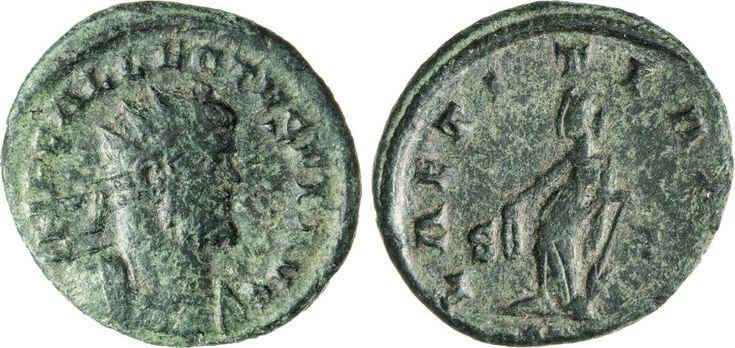 NumisBids: Numismatica Varesi s.a.s. Auction 65, Lot 272 : ALLETTO (293-296) Antoniniano, Londinium. D/ Busto radiato e...