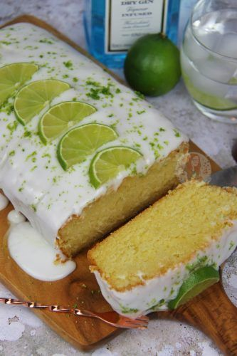 A Deliciously Light, Soft, and flavourful cake based on the wonderful Gin & Tonic. Lime Sponge, Gin & Tonic Drizzle, Gin Icing, and Lime =...