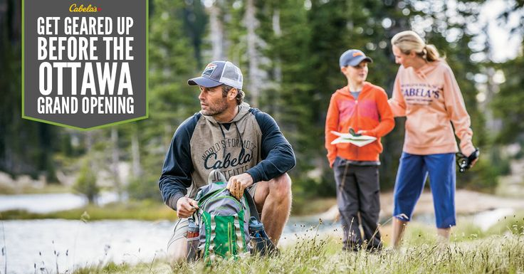 Celebrate the opening of Cabela's Ottawa with a shopping spree on us. Enter to win exclusive VIP access and be the first shopper at our new retail location plus our weekly prizes.