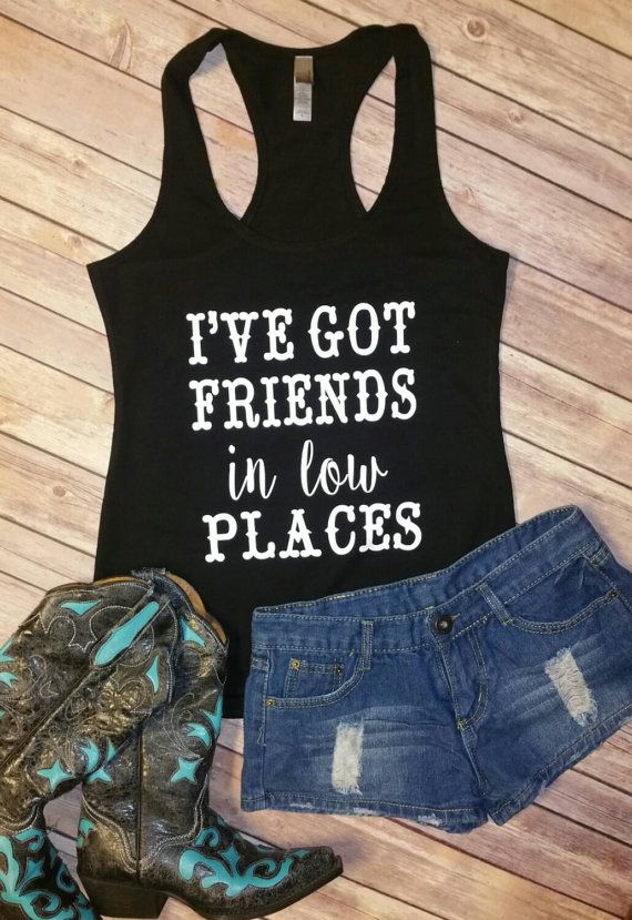I've Got Friends in Low Places  Terry by JesusandGypsySoul on Etsy