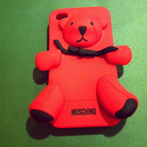 Photo by mireab #gennarino #moschino #iphone #case #cover