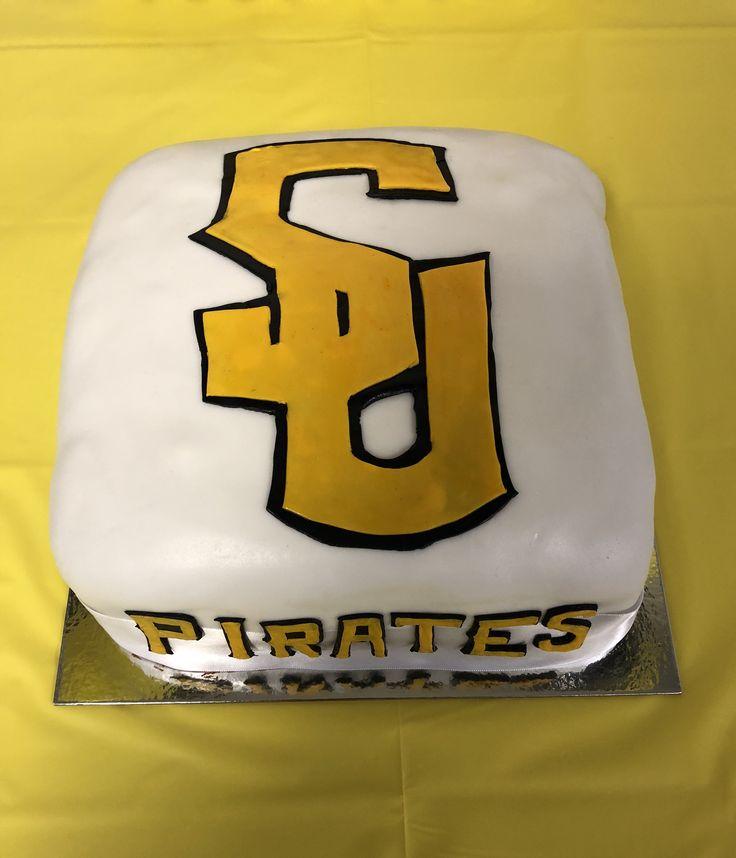 Southwestern University Pirates cake
