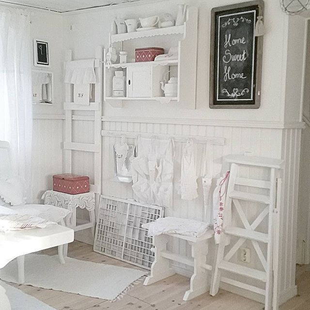 Shabby and Charme: Nordic Shabby Chic a casa di Sonja