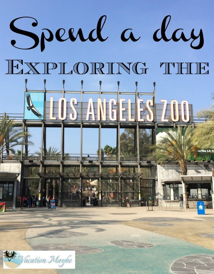 The Los Angeles Zoo is located at the Northeast corner of