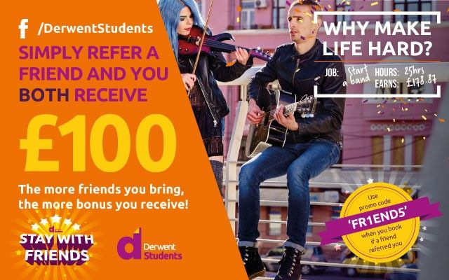 Refer a friend and receive £100 in Amazon vouchers.