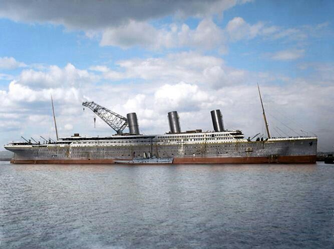 RMS Britannic under construction | HMHS Britannic ...