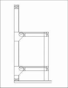 Folding bunk beds...space saver!