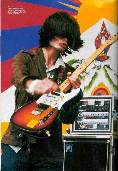Jonny Greenwood - #Radiohead - Tobacco Burst Fender Telecaster Plus Tele2
