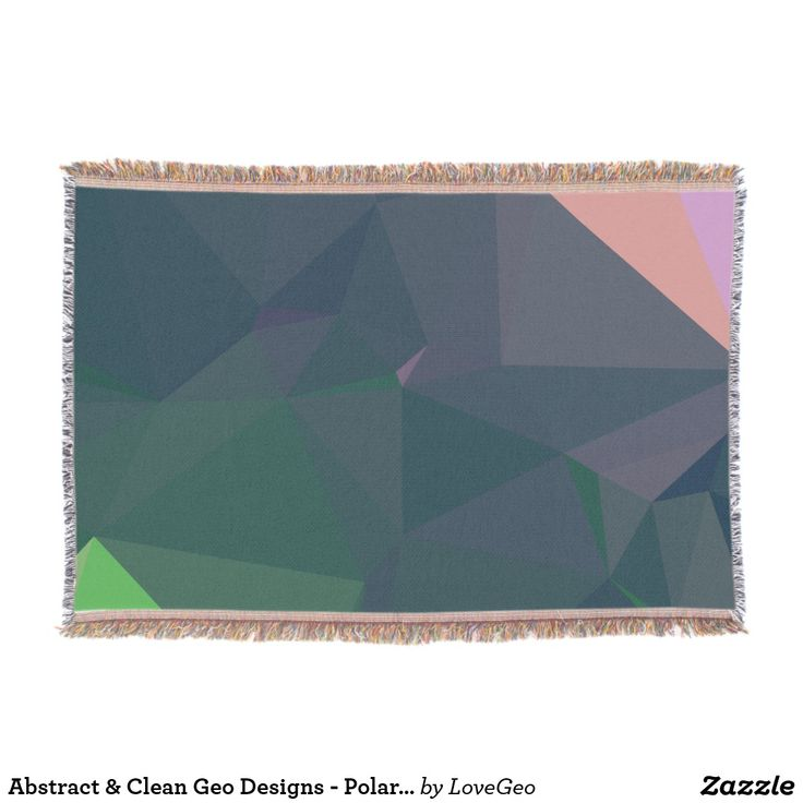 Abstract & Clean Geo Designs - Polar Wonders Throw Blanket #LoveGeo #geometric #abstract #Uniquegifts #trendy #shopping #giftidea #personalized #throws #homedecor
