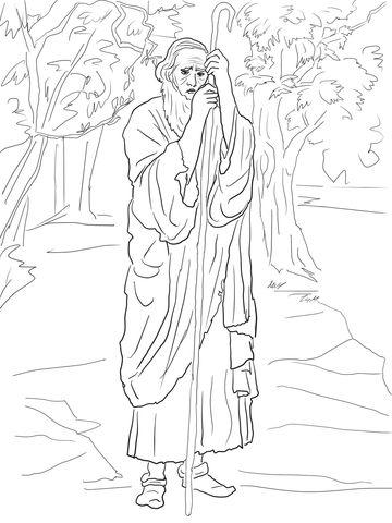 prophet obadiah coloring page  free printable coloring pages  bible coloring pages bible