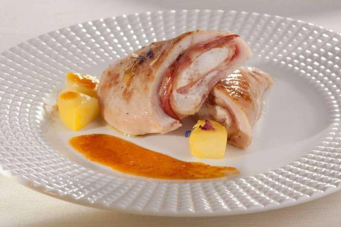 Pechugas de pollo rellenas al horno sabros simas y muy - Pechugas de pollo al horno ...