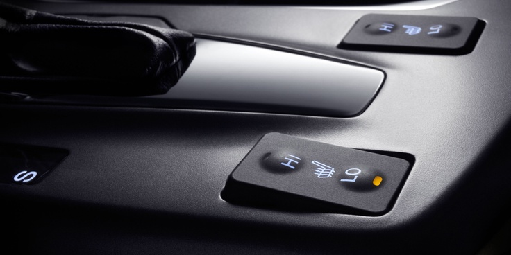 Heat your seats in the DX with Technology Package for chilly commutes, trips to the ski hill, or anything in between.