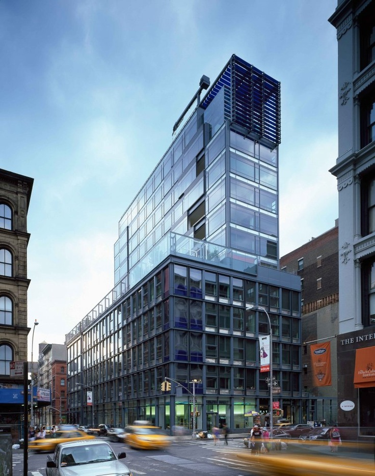 40 mercer new york united states a project by ateliers for Architecture jean nouvel