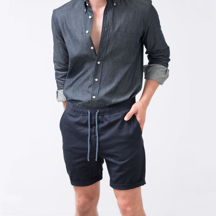 The Off Duty Short is a weekend staple. In lightweight 6oz Japanese cotton twill, the Off Duty Short opts ...