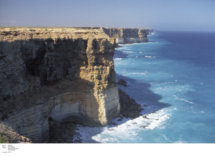 Great Australian Bight.    Image Source: SA Tourism Commission.