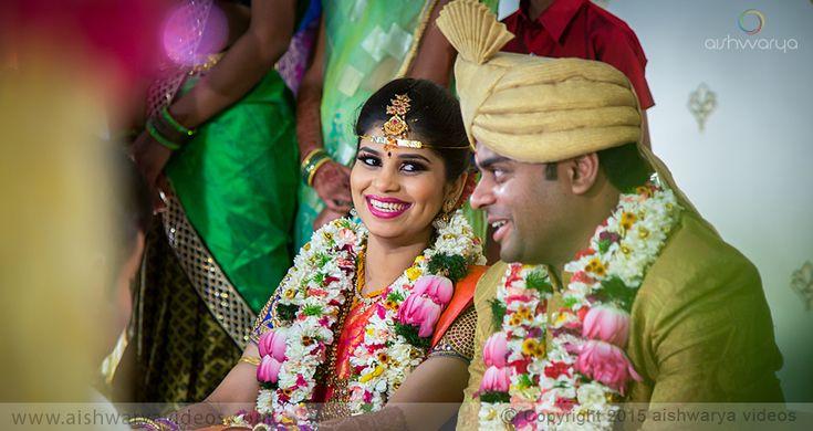 Baba Prasad & Loga Pritika - top wedding photographers - Aishwarya Photos & Videos
