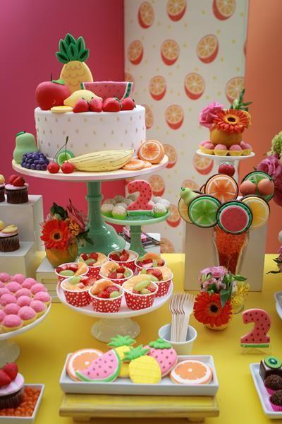 Festa frutaria - ideias e inspirações fáceis de reproduzir em casa