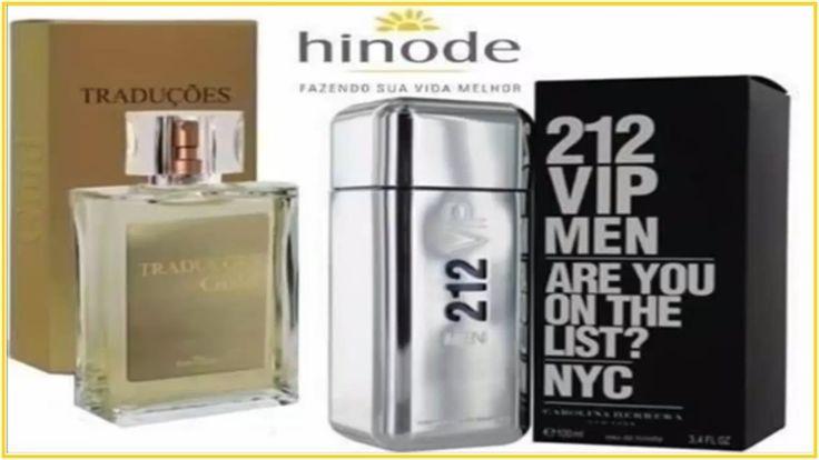 Conheça o Perfume da HINODE Traduções Gold n 62 Masculino concorrente 21...