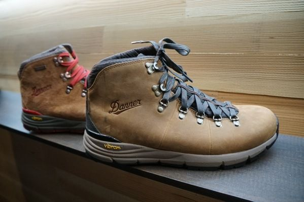 Danner hiking boots. Shot Show 2018