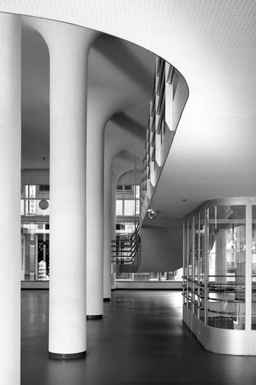 Glaspaleis (Renovation) | 1935 | Heerlen, the Netherlands | Fritz Peutz / (R) Wiel Arets Architects and Jo Coenen Architects & Urbanists