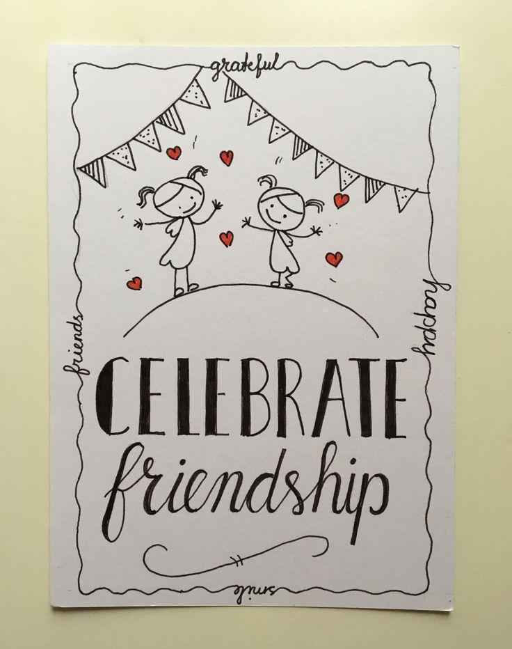 Vriendschap, friendship
