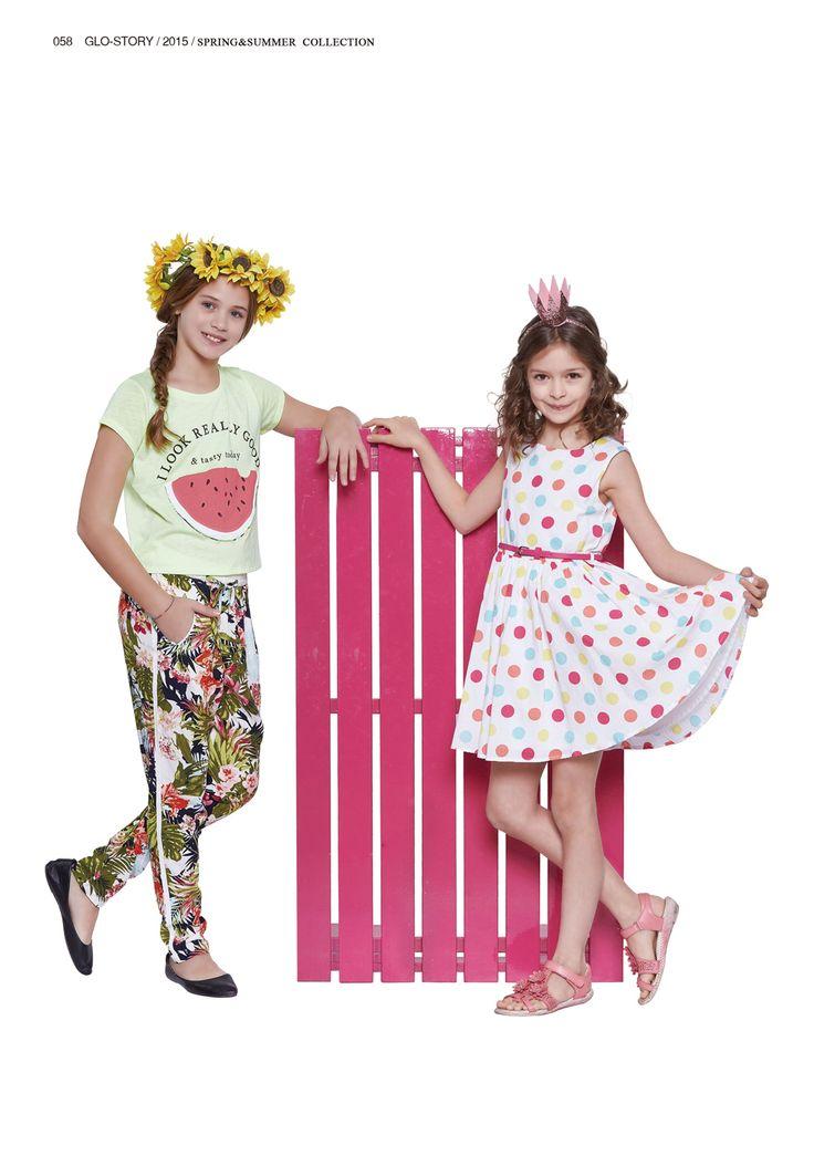 Glo-story's summer princesses  #glostory #fashion #forgirls #ss15 #cute #clothing #fashion #dress #tshirt #jacket #jeans #shirt #coat