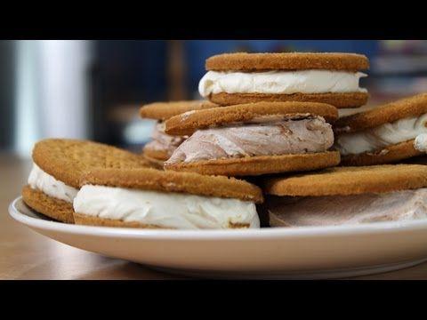 Η Κουζίνα του Ευτύχη - Εύκολο παγωτο - σάντουιτς