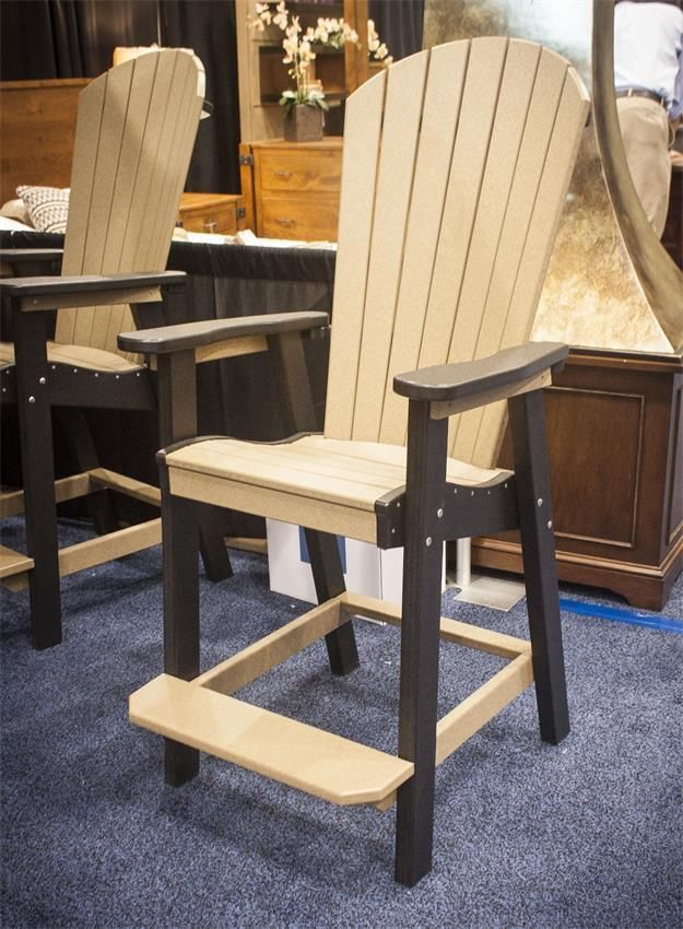Finch Great Bay Poly Counter Chair Wood Patio Chairs Bar Chairs