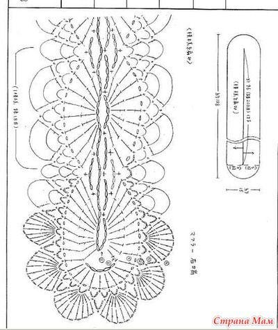 Belt Pattern  Широкие пояса крючком+схемы - Страна Мам