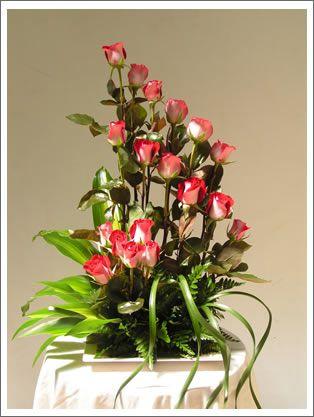 Arreglo Florale Rosas Rojas | Arreglos Florales, de globos, etc, toda ocasion