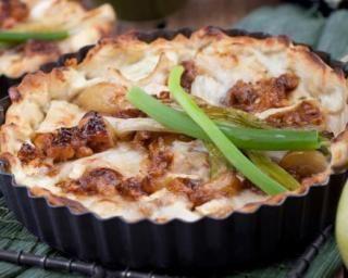 Mini quiches minceur aux poires, chèvre et miel : http://www.fourchette-et-bikini.fr/recettes/recettes-minceur/mini-quiches-minceur-aux-poires-chevre-et-miel.html
