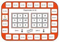 Juf Shanna: Plussommen bingo! - 2 nieuwe spelborden!