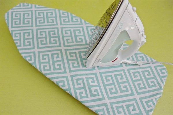Mini Ironing Board Cover Tutorial Weallsew Mini Ironing Board Ironing Board Covers Diy Ironing Board Covers