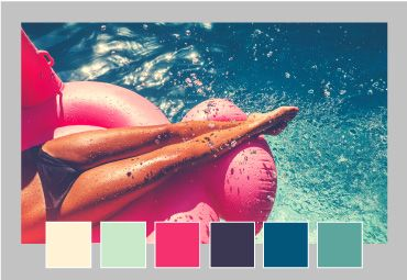 Select the perfect color scheme for your Australia Day Poster Template with Easil's color palette generator