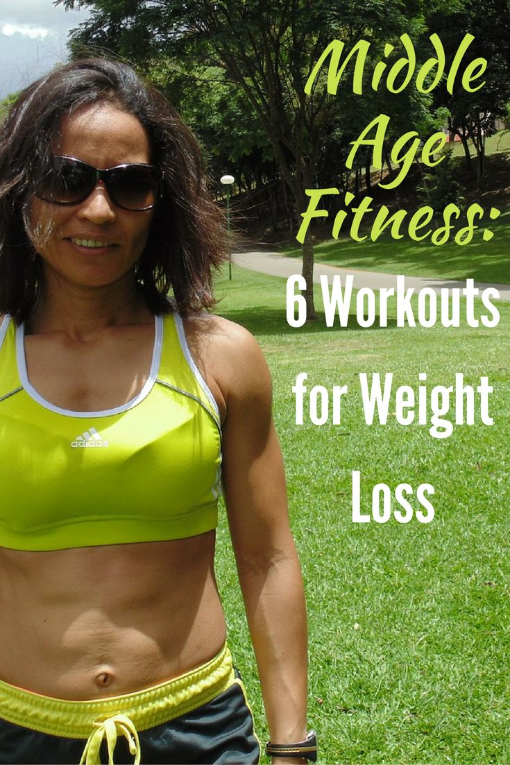 Middle Age Fitness: 6 Workouts for Weight Loss via @DIYActiveHQ