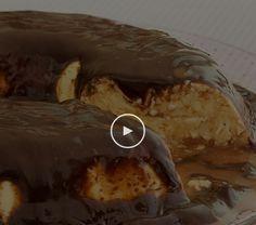 Pudim de Leite Ninho  com Ganache de Nutella - de microondas