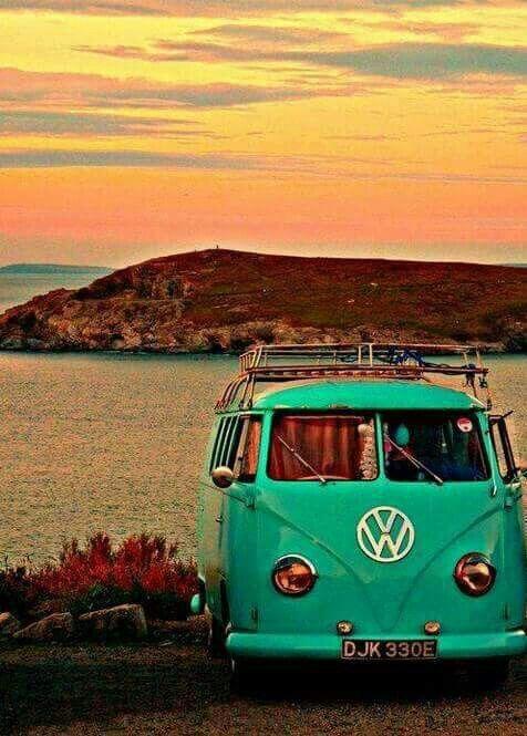 american hippie vw bus vw pinterest beautiful. Black Bedroom Furniture Sets. Home Design Ideas