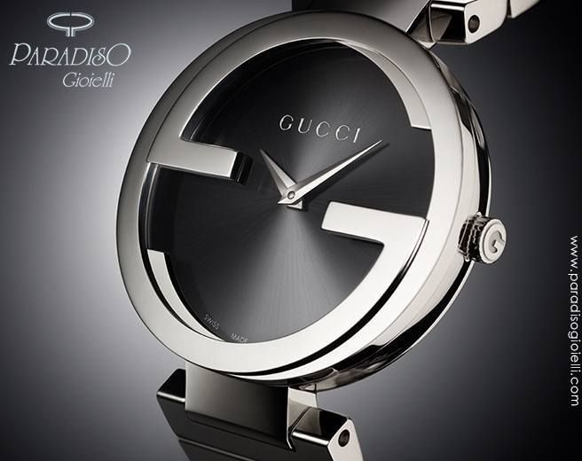 #Orologio Gucci Interlocking unico ed esclusivo!  Solo su: http://goo.gl/inV9Md  #OrologioGucci #GioielliModa #JewelsGucci