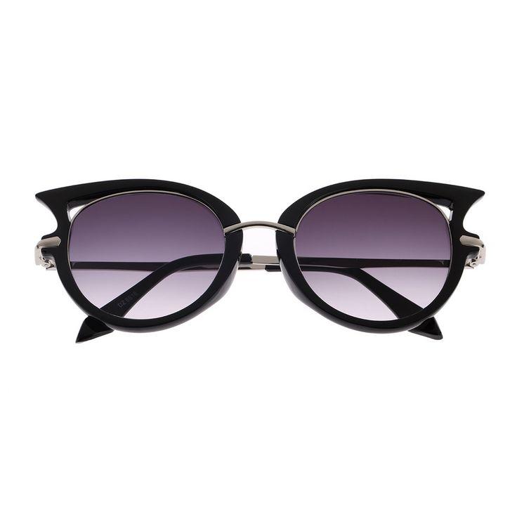Nice Hot Retro Metal Frame Sexy Cat Eye Sunglasses for Women Coating Brand vintage sun glasses female oculos de grau femininos NO1 - $7.83 - Buy it Now!