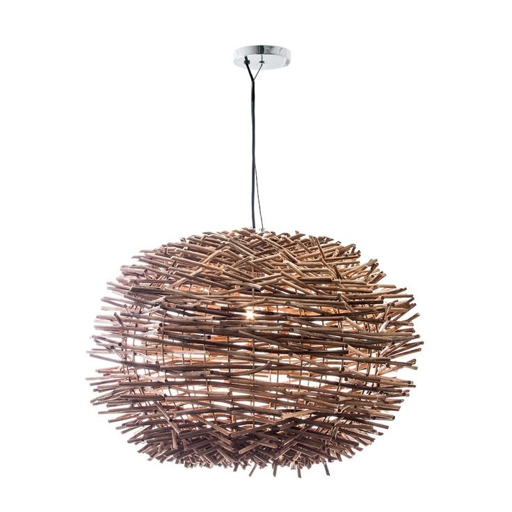 Porcupine round hanging lamp 40x53d