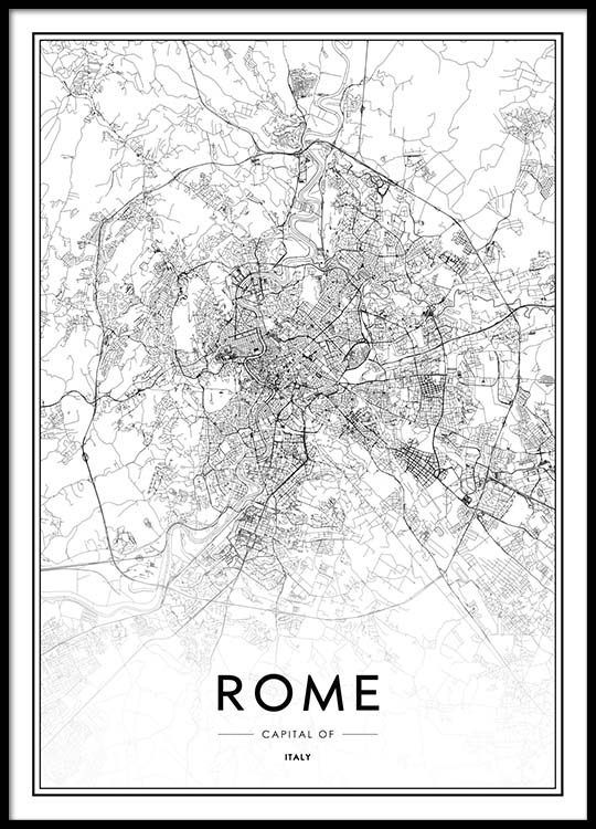 Rome Poster In De Groep Posters Afmetingen 50x70cm Bij Desenio