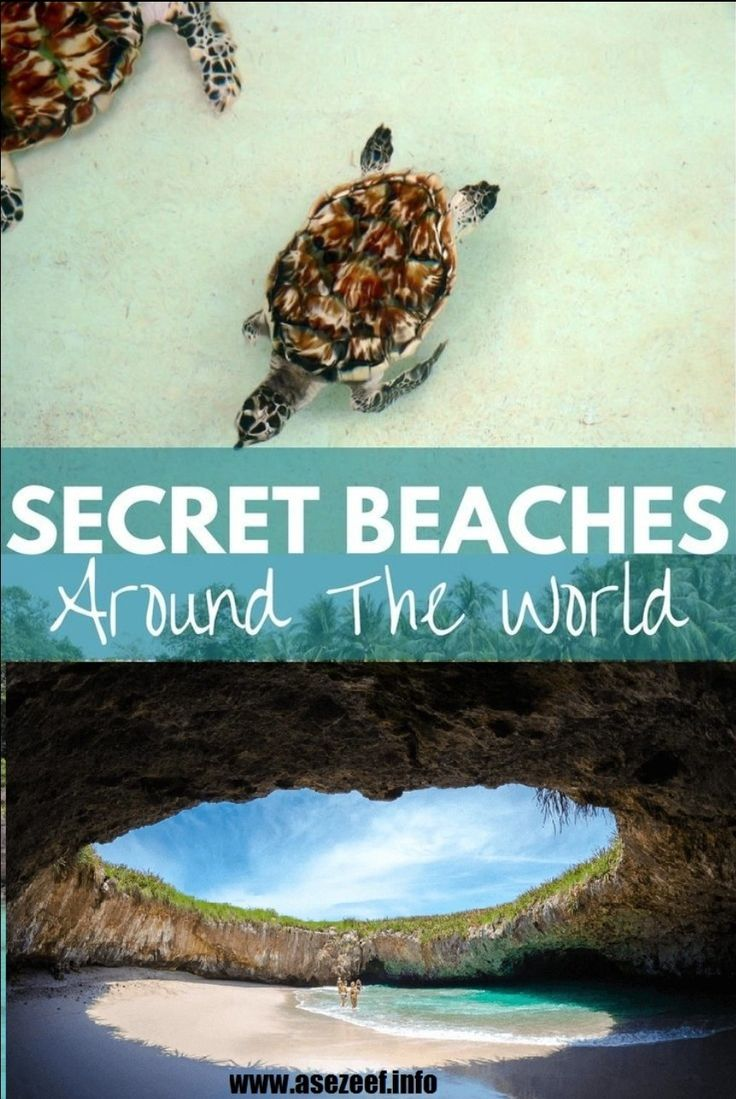 Secret Beaches Around The World 🌏❤