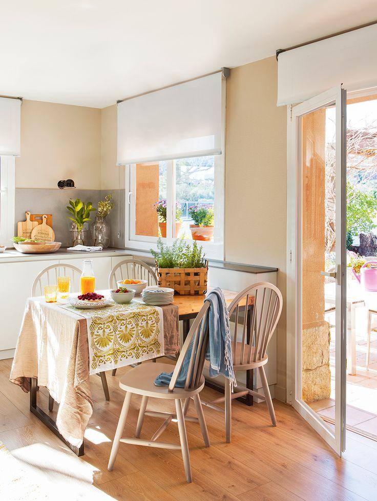 9 best Cortinas cocina images on Pinterest | Kitchen ideas, Kitchens ...