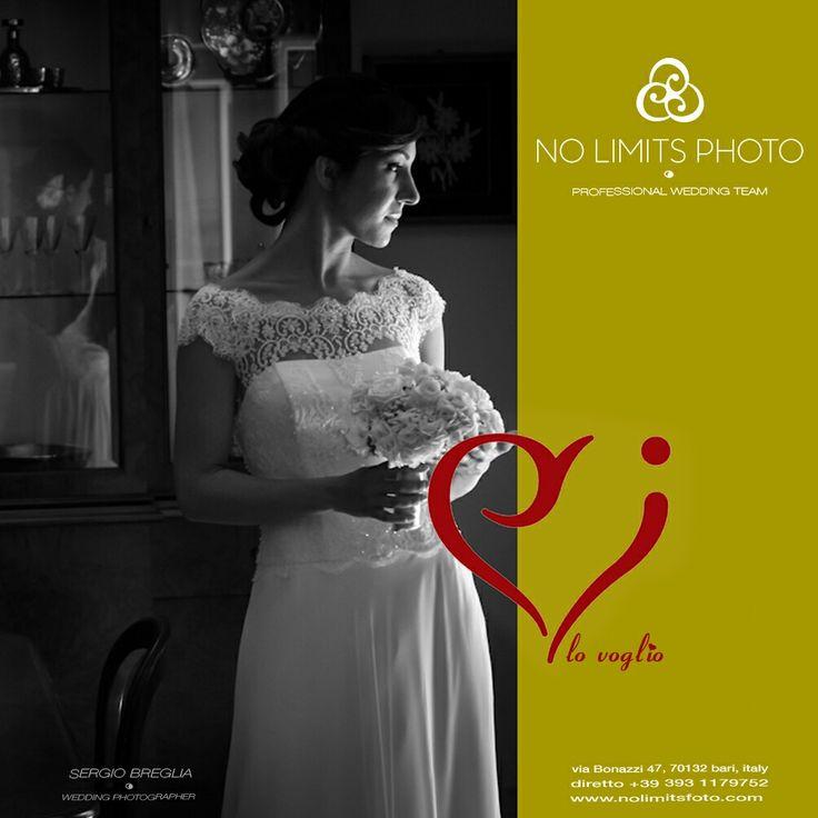 Servizi fotografici di Matrimoni unici. È questa la nostra mission ed è questo il nostro valore. Vogliamo rendere ogni matrimonio unico per gli sposi stessi.  www.nolimitsfoto.com