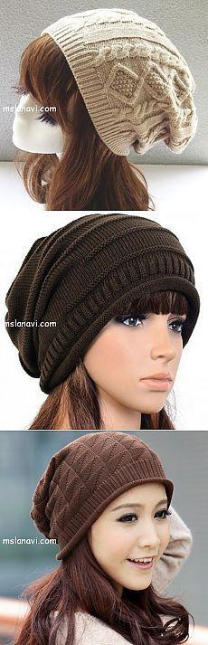 Модные шапочки спицами: разные варианты идей | Ms Lana Vi