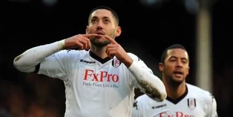 British soccer star is a Texan who looks to Heaven after each goal he scores.  Clint Dempsey is one of two Americans ever to score in two World Cups. He's the only American to score an English Premier League hat trick. And he has a quiet ritual of a brother's eternal love.