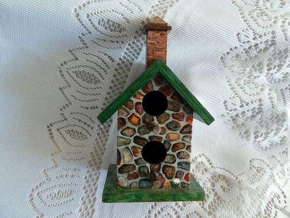 Birdhouse Hand Painted Birdhouse Decorative Bird House