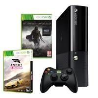 Игровая приставка Microsoft  Xbox 360 500GB + Forza Horizon 2 + Shadow of Mordor